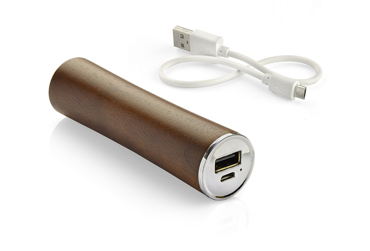 Power Bank WOODWORK ciemny 2200mAh