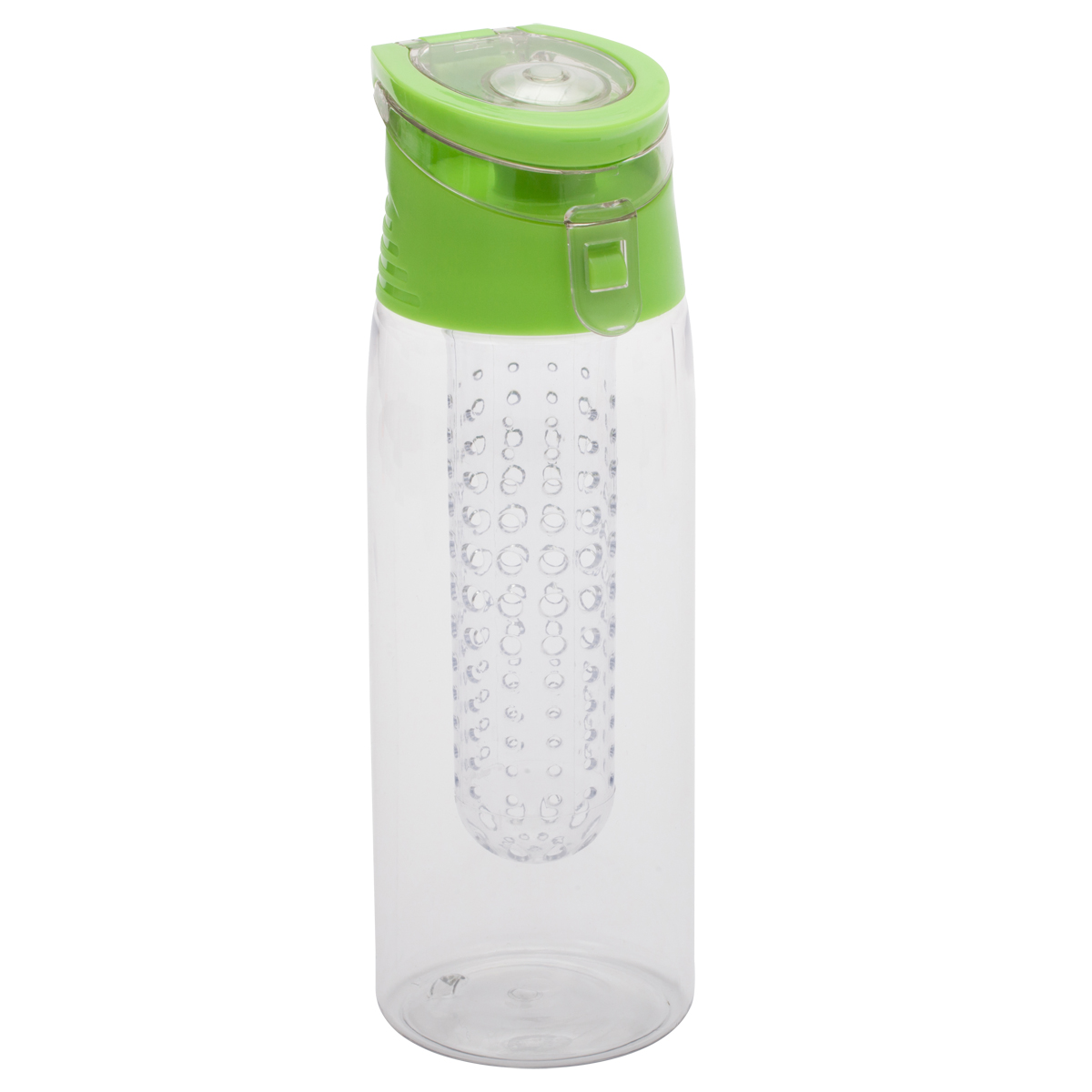 Bidon Frutello 700 ml, zielony/transparentny